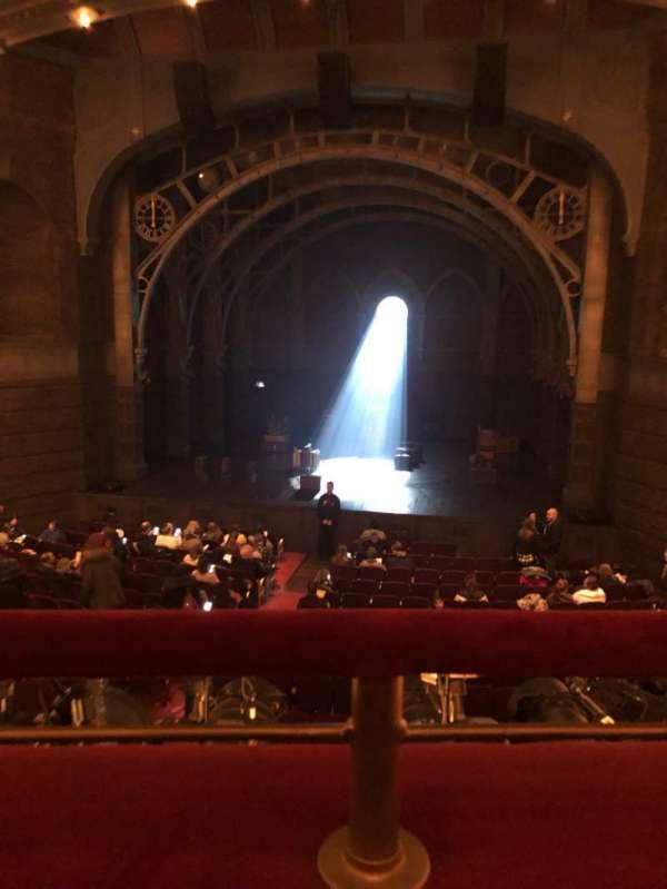 Lyric Theatre, secção: Dress Circle, fila: A, lugar: 117