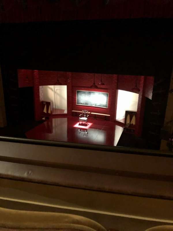Samuel J. Friedman Theatre, secção: Mezzanine C, fila: B, lugar: 119