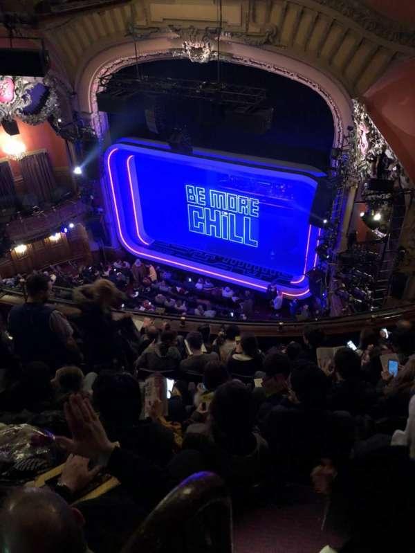 Lyceum Theatre (Broadway), secção: Balcony R, fila: F, lugar: 16