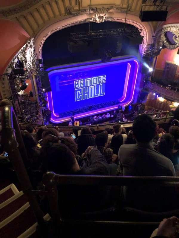Lyceum Theatre (Broadway), secção: Balcony L, fila: F, lugar: 15