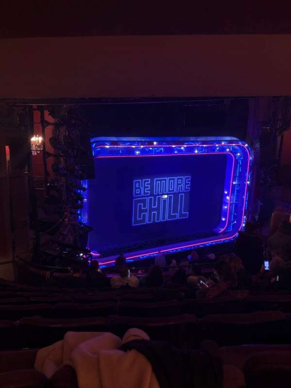 Lyceum Theatre (Broadway), secção: Mezzanine L, fila: G, lugar: 21