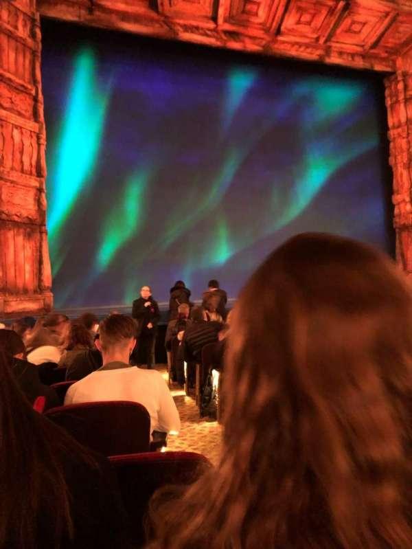 St. James Theatre, secção: Orchestra L, fila: L, lugar: 3