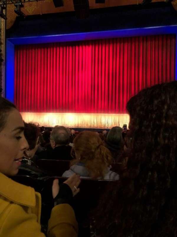 Longacre Theatre, secção: Orchestra C, fila: N, lugar: 103