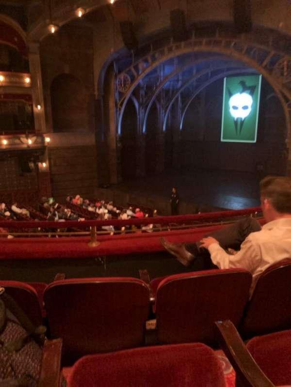 Lyric Theatre, secção: Dress, fila: C, lugar: 8