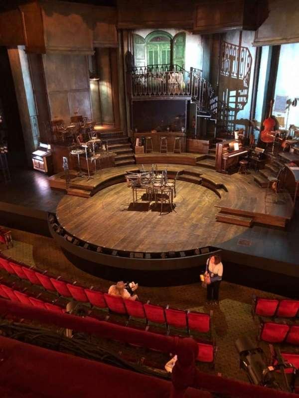 Walter Kerr Theatre, secção: Mezz, fila: B, lugar: 2