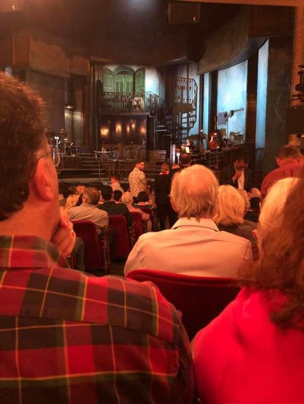 Walter Kerr Theatre, secção: Orch, fila: P, lugar: 4