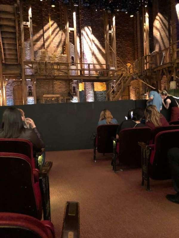 CIBC Theatre, secção: Orchestra L, fila: G, lugar: 1
