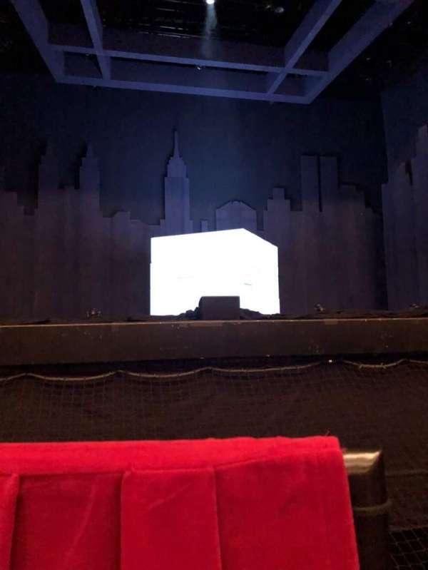 James M. Nederlander Theatre, secção: Orchestra C, fila: A, lugar: 105