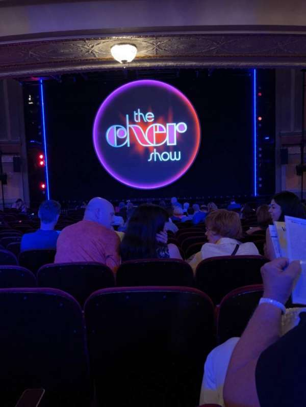 Neil Simon Theatre, secção: Orchestra C, fila: T, lugar: 109