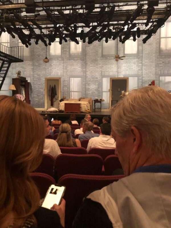 Broadhurst Theatre, secção: Orchestra C, fila: J, lugar: 112