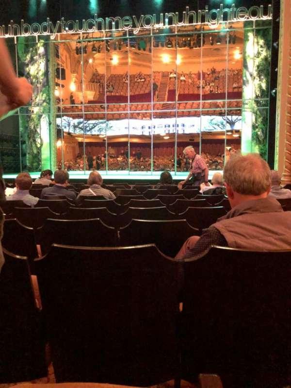 John Golden Theatre, secção: Orchestra C, fila: K, lugar: 104