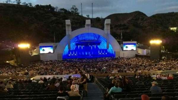 Hollywood Bowl, secção: H, fila: 21, lugar: 117