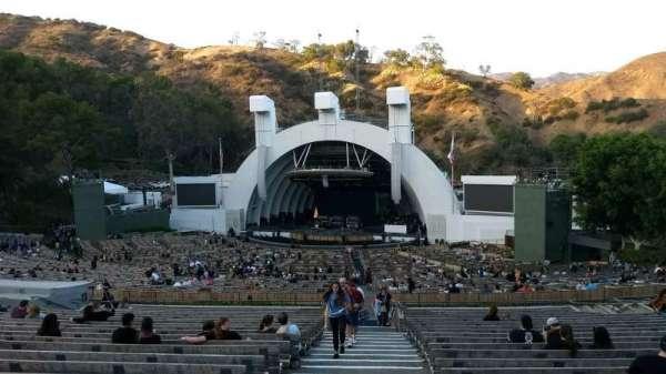 Hollywood Bowl, secção: F1, fila: 22, lugar: 43