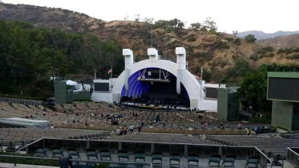Hollywood Bowl, secção: L1, fila: 7, lugar: 1