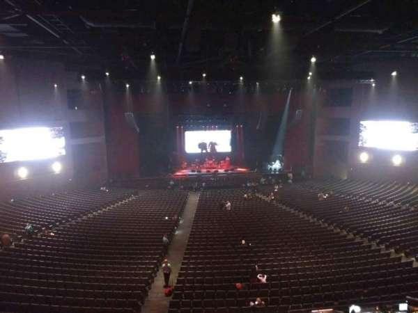Microsoft Theater, secção: Lower Mezz Center Left, fila: B, lugar: 406