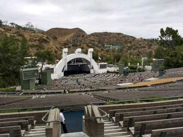 Hollywood Bowl, secção: U3, fila: 9, lugar: 1