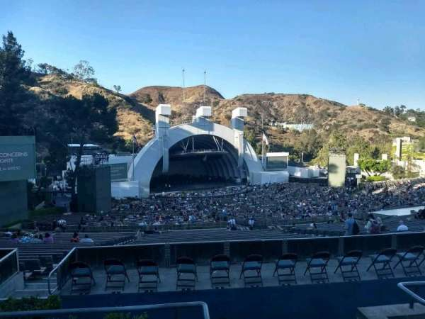 Hollywood Bowl, secção: P2, fila: 4, lugar: 101