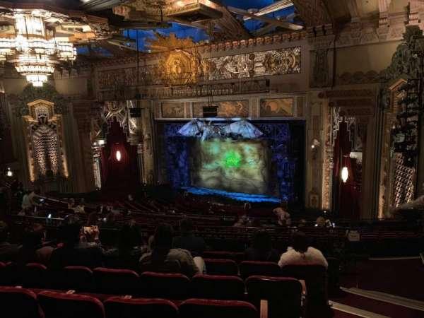 Hollywood Pantages Theatre, secção: Mezz Right, fila: Q, lugar: 24