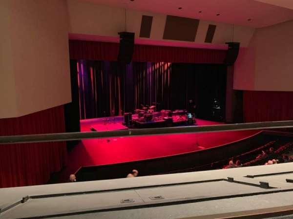 Downey Theatre, secção: Balcony Left, fila: AA, lugar: 1