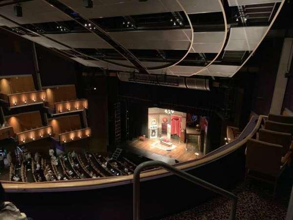 Ahmanson Theatre, secção: Balcony , fila: C, lugar: 1