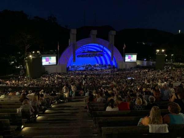Hollywood Bowl, secção: J2, fila: 22, lugar: 43