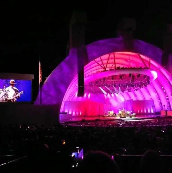 Hollywood Bowl, secção: Terrace 5, fila: 1756, lugar: 4