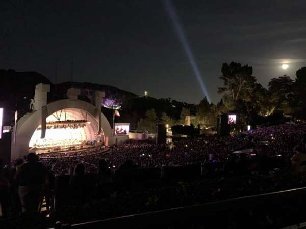 Hollywood Bowl, secção: P3, fila: 1, lugar: 21