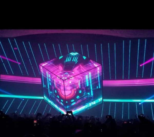 Hollywood Palladium, secção: GA