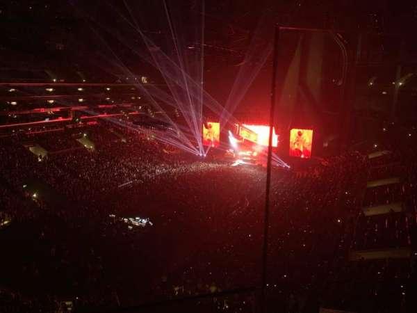 Staples Center, secção: 301, fila: 1, lugar: 1