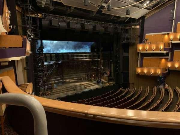 Ahmanson Theatre, secção: Mezzanine , fila: B, lugar: 46
