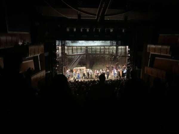 Ahmanson Theatre, secção: Mezzanine, fila: G, lugar: 32