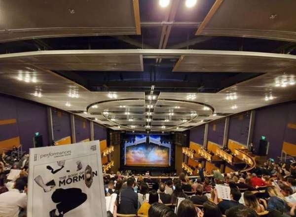 Ahmanson Theatre, secção: Balcony, fila: K, lugar: 21