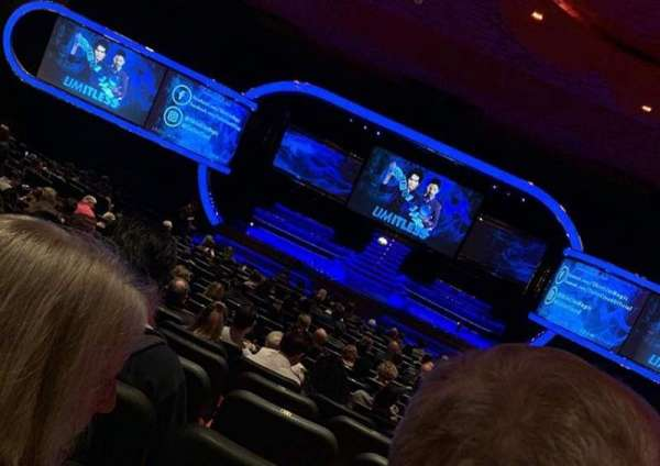 Terry Fator Theatre - The Mirage, secção: 102, fila: O, lugar: 9