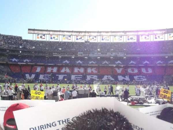 San Diego Stadium, secção: F6, fila: 9, lugar: 9