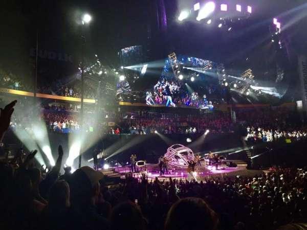 Bridgestone Arena, secção: 115, fila: JJ, lugar: 12