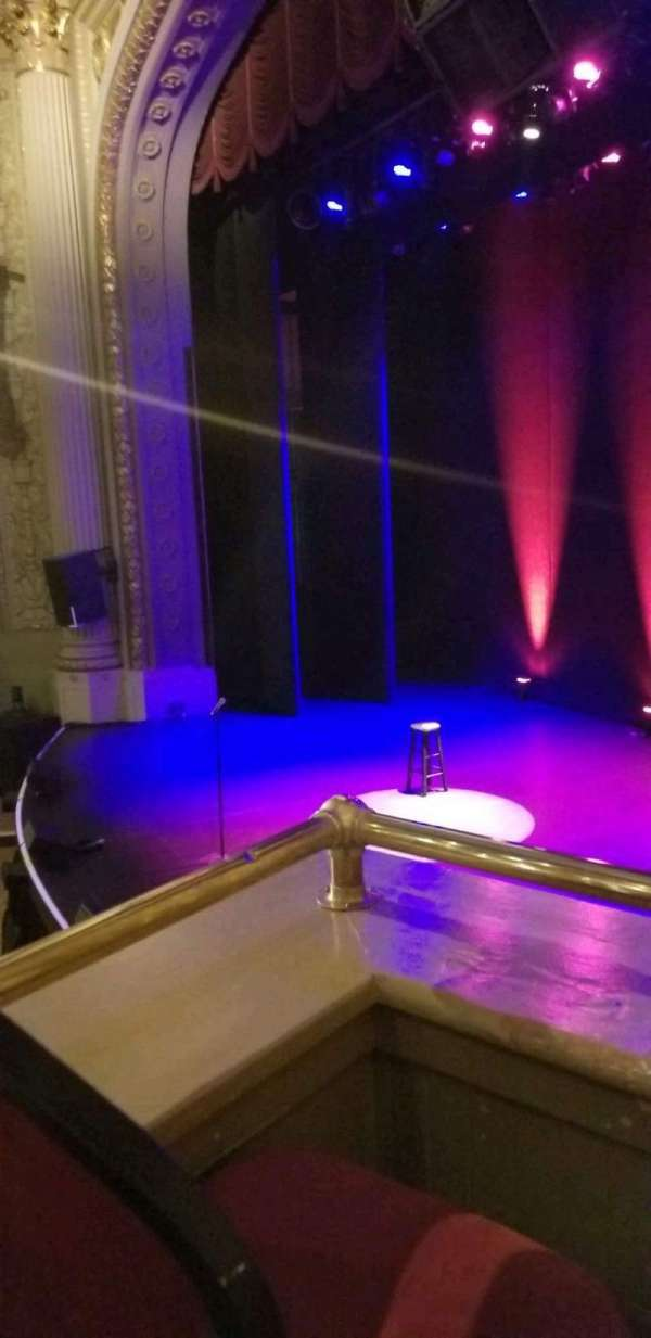 Majestic Theatre - Dallas, secção: Lodge, fila: B, lugar: 2
