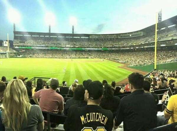 PNC Park, secção: 235, fila: H, lugar: 17