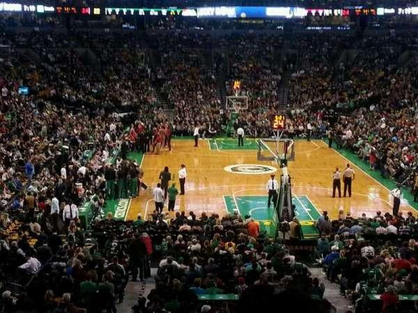 TD Garden, secção: AT&T Sports Deck, fila: B, lugar: 34