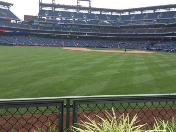 Citizens Bank Park, secção: 145, fila: 1, lugar: 1