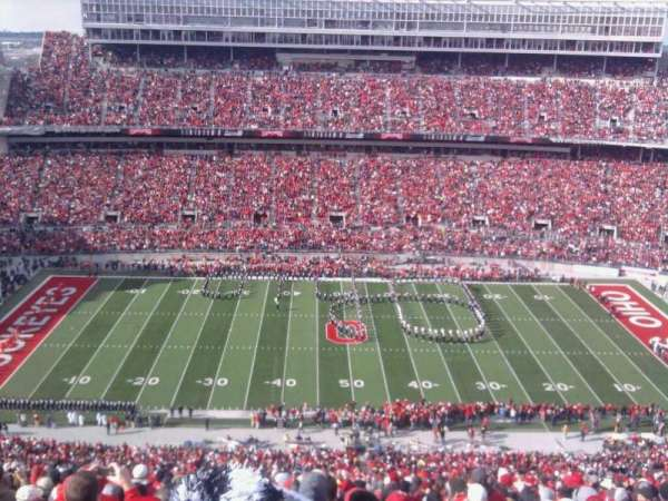Ohio Stadium, secção: 22C