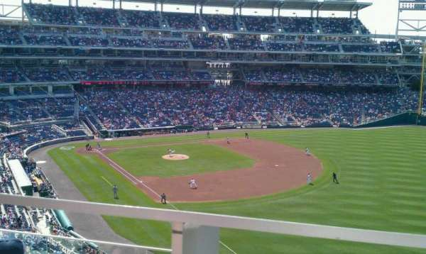 Nationals Park, secção: 228, fila: D, lugar: 1