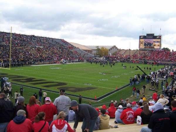 Ross-Ade Stadium, secção: 119, fila: 17, lugar: 8