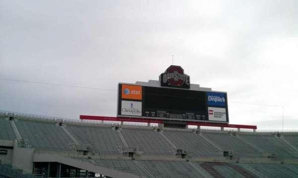 Ohio Stadium, secção: 22A, fila: 1, lugar: 24