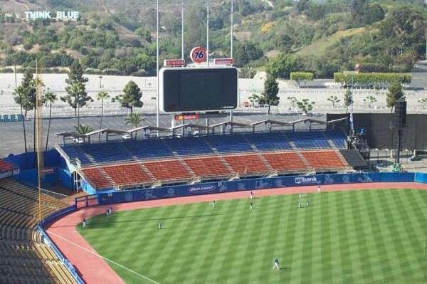 Dodger Stadium, secção: 5TD