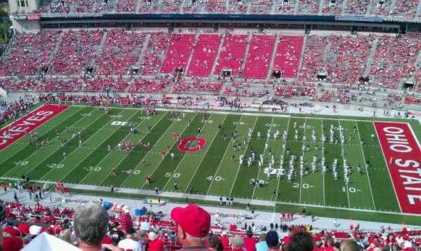 Ohio Stadium, secção: 18C, fila: 41, lugar: 31