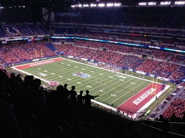 Lucas Oil Stadium, secção: 634, fila: 16, lugar: 2