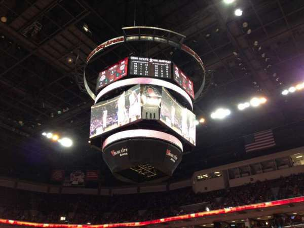 Value City Arena, secção: 104, fila: E, lugar: 21