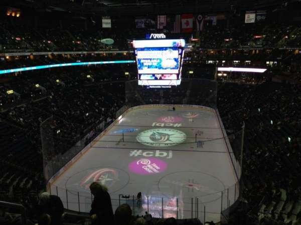 Nationwide Arena, secção: 223, fila: G, lugar: 16