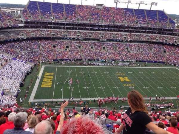 M&T Bank Stadium, secção: 503, fila: 24, lugar: 1