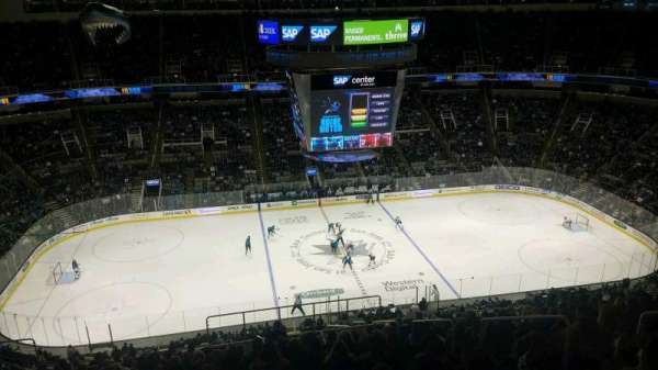 SAP Center at San Jose, secção: 216, fila: 17, lugar: 6